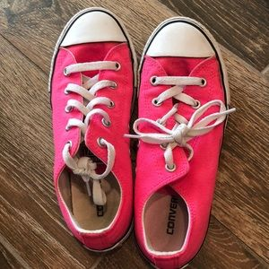 Other - Pink Converse shoes